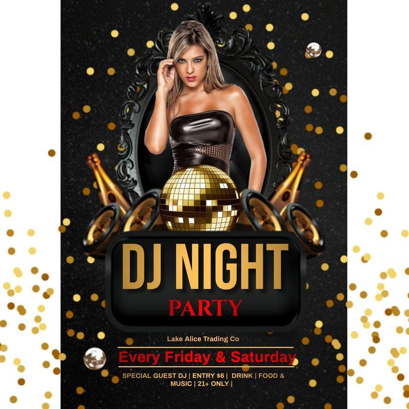Friday Night Party!!