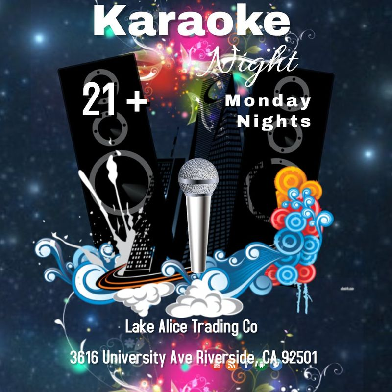 Monday Karaoke Nights!!