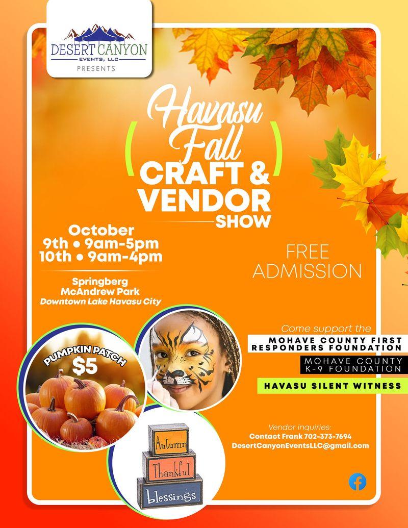 Havasu Fall Craft & Vendor Show