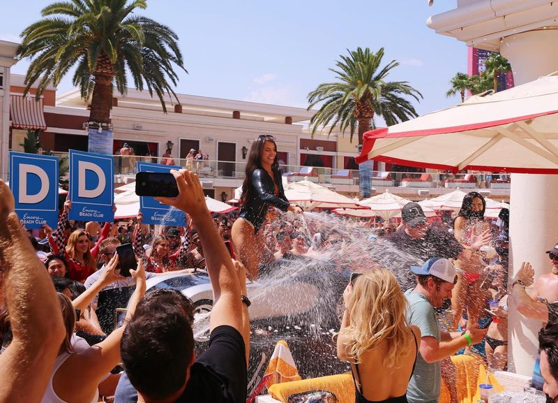 Champagne Shower Friday's!!!