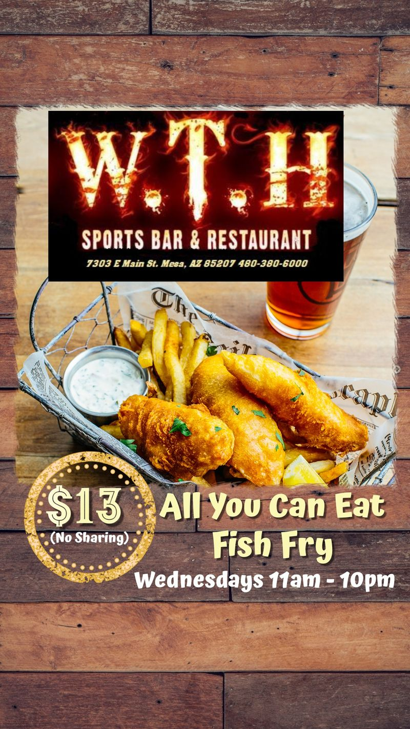 Fish Fry Wednesday's!!!  All You Ca Eat $10.00