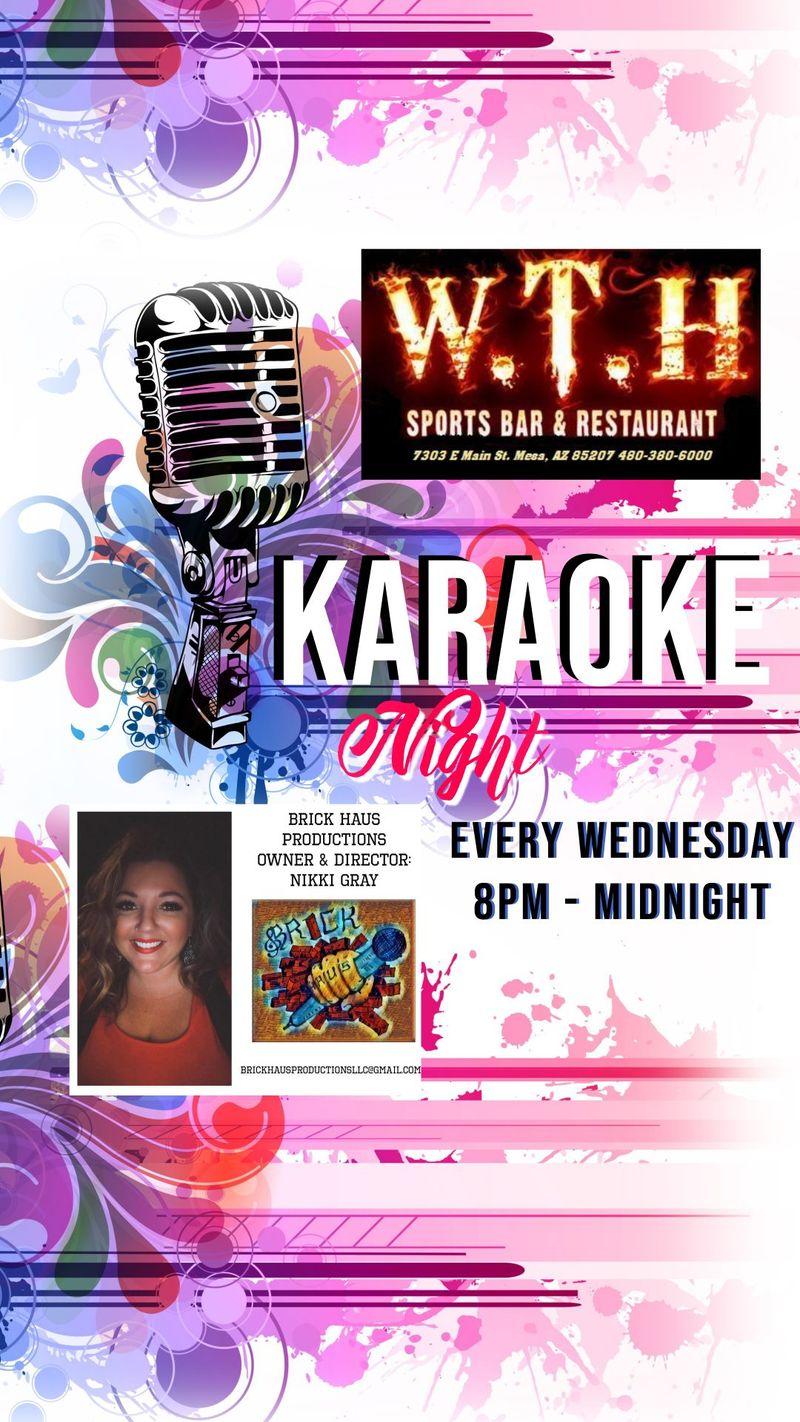 Karaoke Wednesday's!!!   8pm