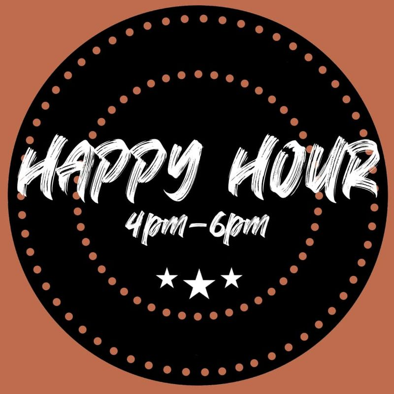 Thursday Happy Hour Specials!   4-6pm