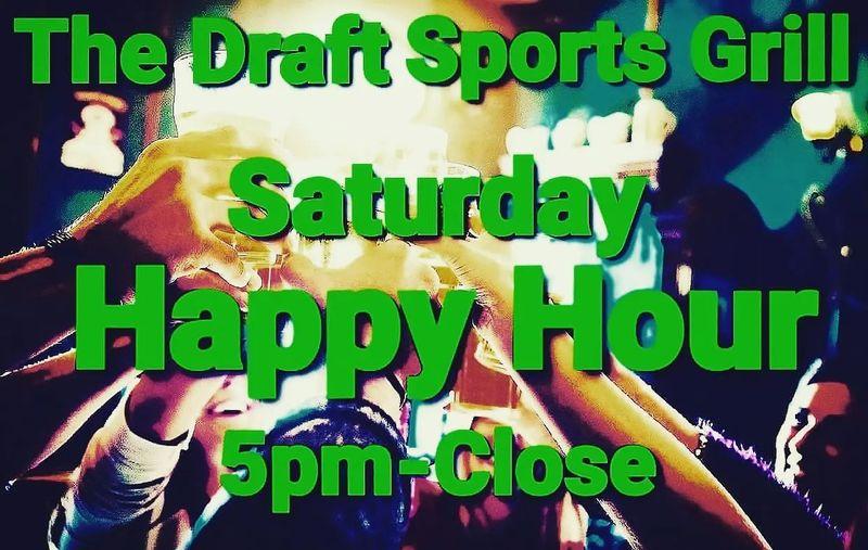 Happy Hour & Karaoke Saturday's!!