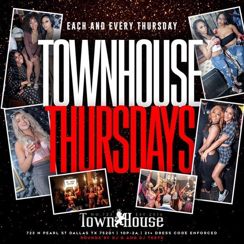 TownHouse Thursday's!!!