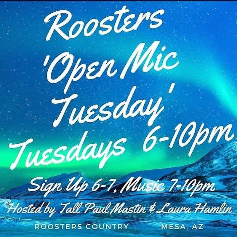 Open Mic Tuesdays!!!