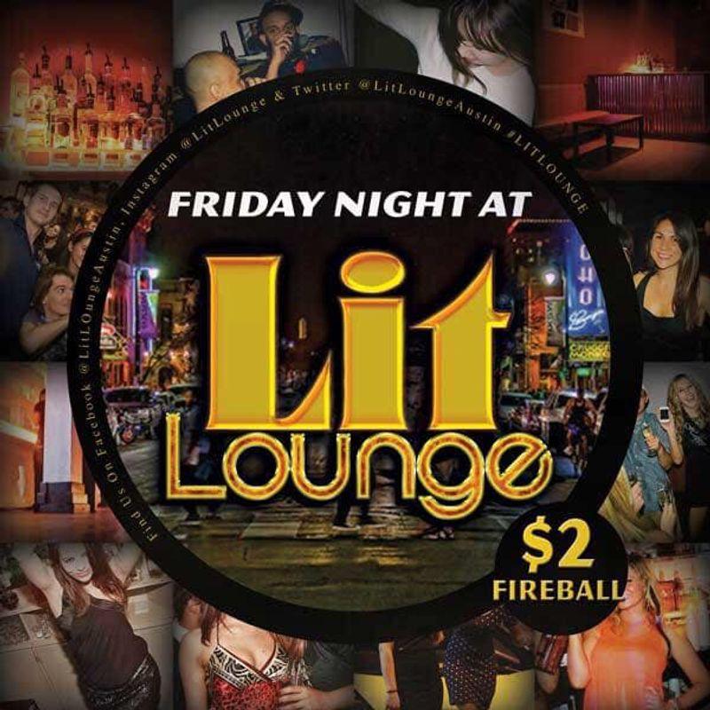 Lit Lounge Friday's!!!