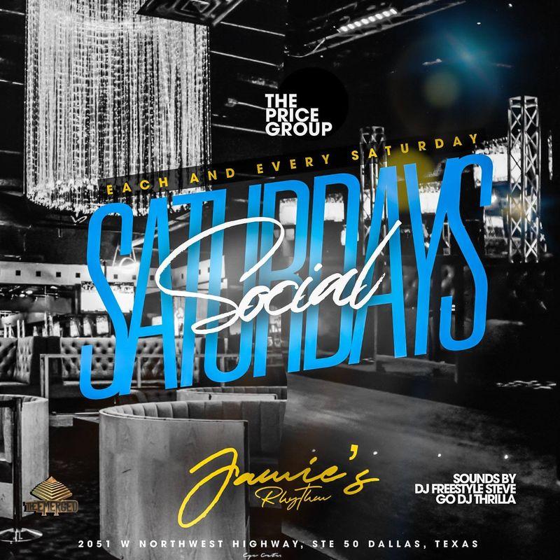 Saturday's Social Nightclub Nights!!!
