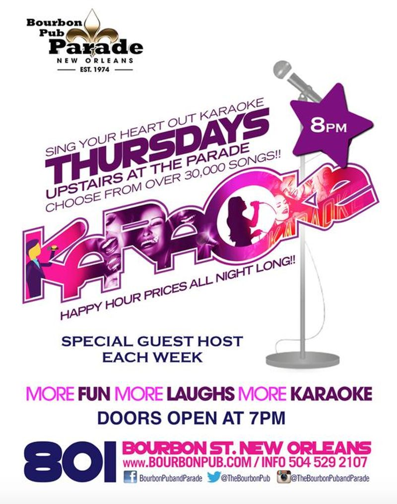 Karaoke Thursday's!!