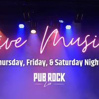 Pub Rock Fridays!!!  Live Music!!