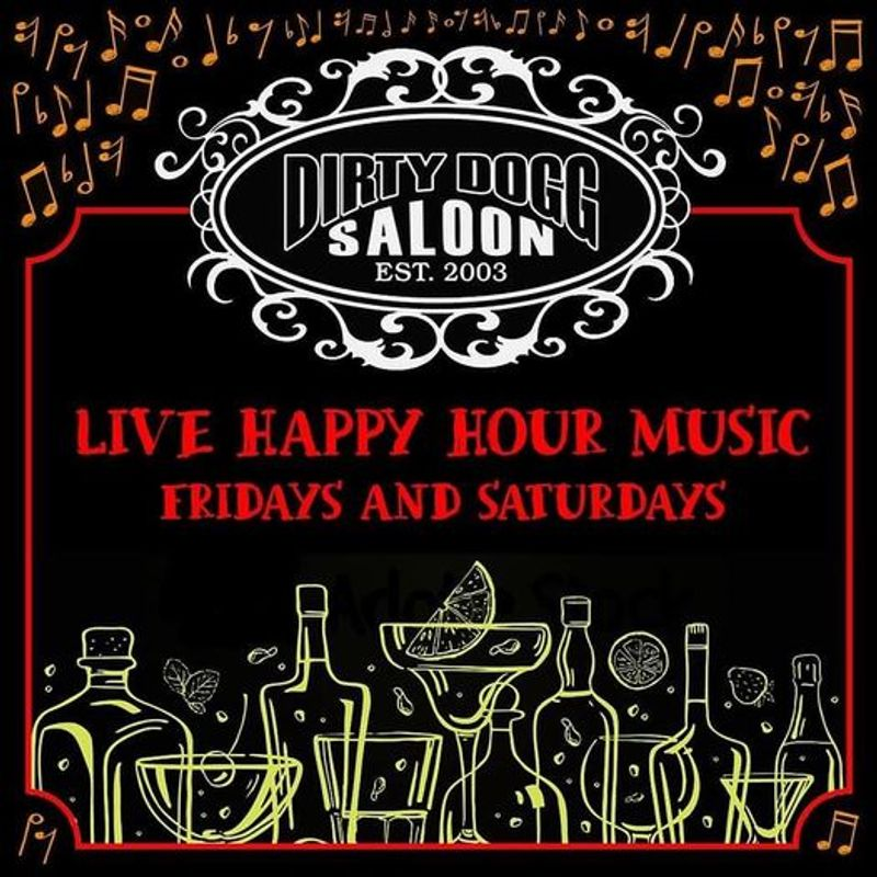 Live Happy Hour Music Friday's!!