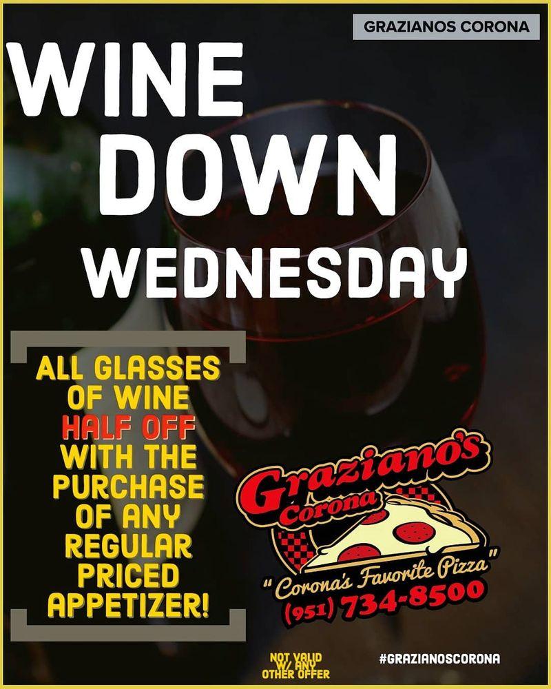 Winedown Wednesday Specials!!