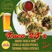 Taco Tuesday Specials at J2's!!