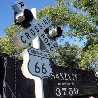 Route 66 Locomotive Park