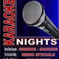 Saturday Night Karaoke Nights!!!  7pm