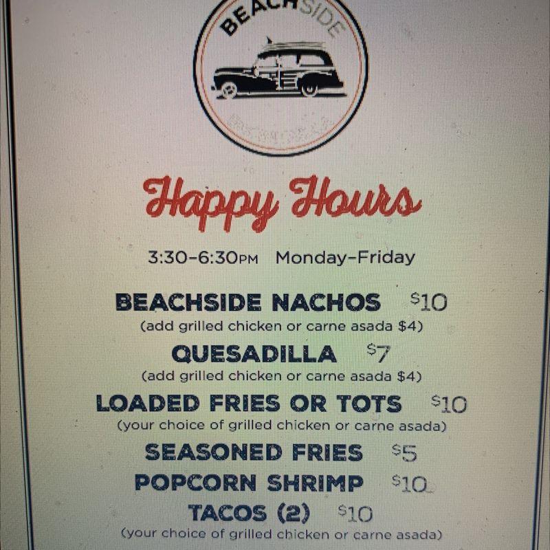 Wednesday Happy Hour Specials!!