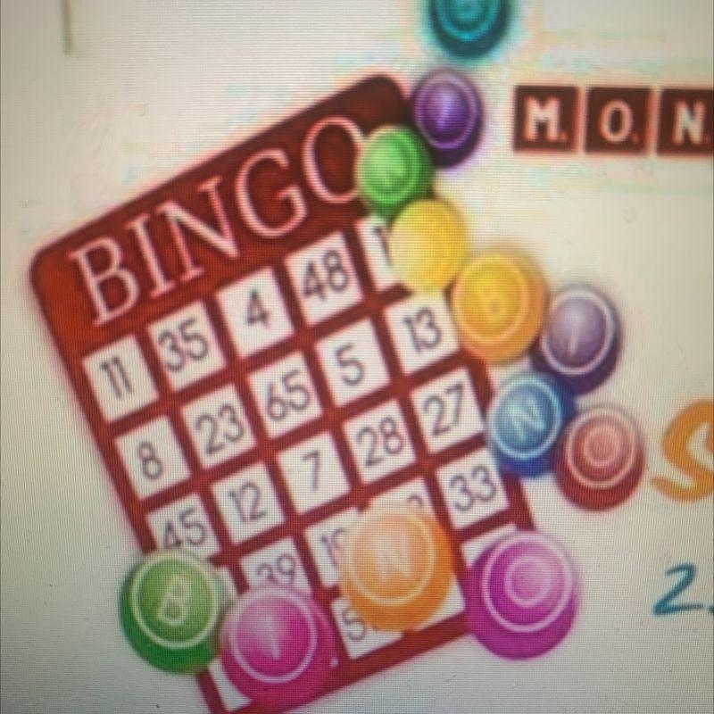 Monday Night Bingo!!  7-9pm