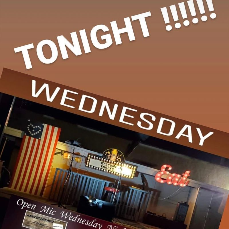 Open Mic Night!!!    8pm