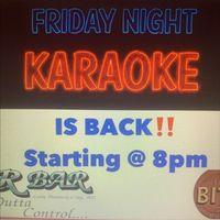Friday Night Karaoke!!!