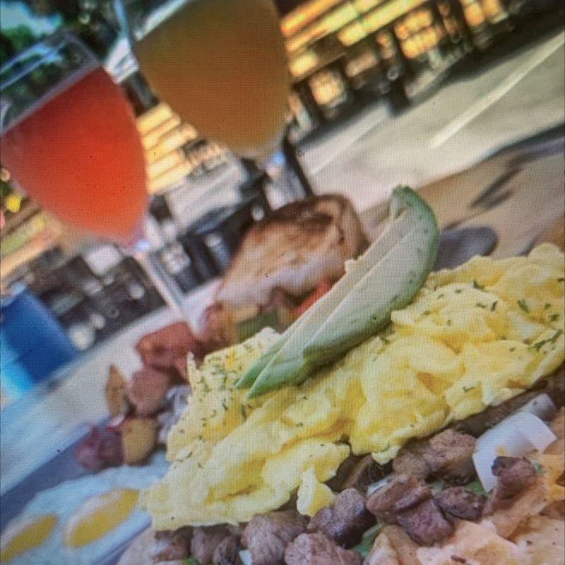 Sunday Breakfast at Bourbon Street!!!