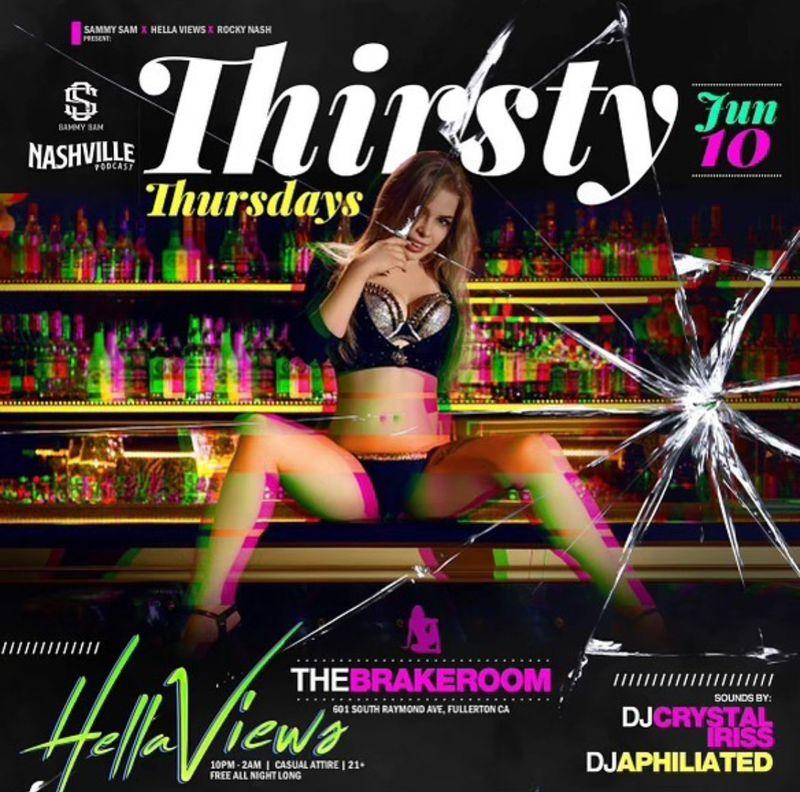 Thirsty Thursday Specials !!!   Live DJ!!
