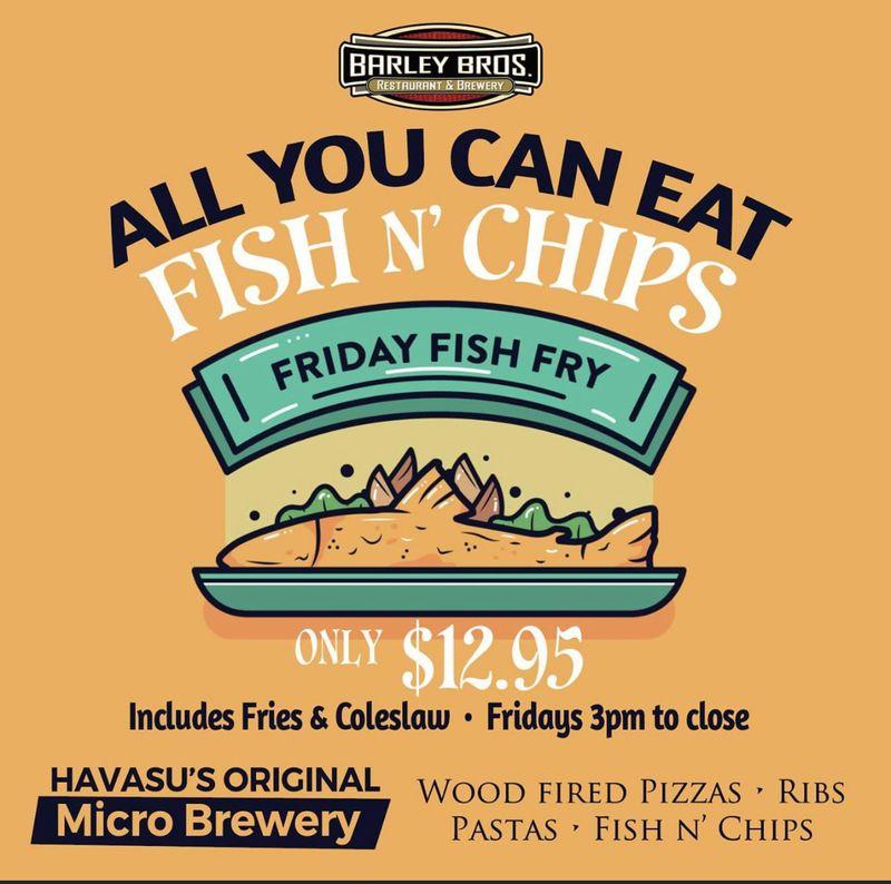 Friday Fish Fry!!!