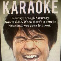 Tuesday Karaoke!!!