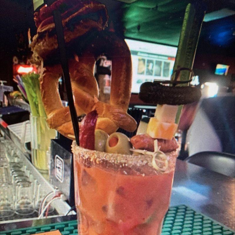 Sunday Bloody Mary's!!!!